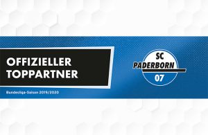 Bild Toppartner Bundesliga Saison 2019/2020 des SC Paderborn 07